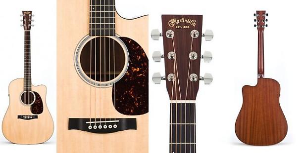 martin dcpa4 acoustic electric guitar 14 fret cutaway w reverb. Black Bedroom Furniture Sets. Home Design Ideas
