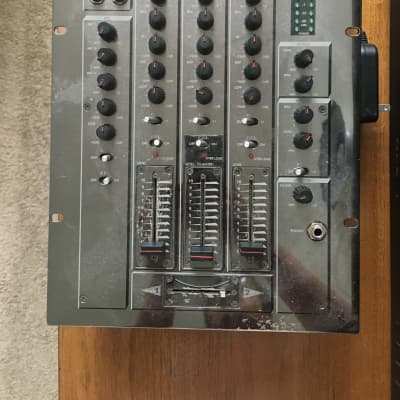 Historic Vestax PMC-17A / Chrome / Hand-signed by Detroit House Music Royalty