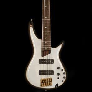 Ibanez SR1405E-GWH SR Premium Series 5-String Bass Glacial White