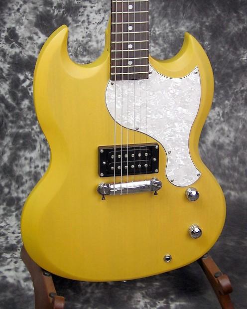 exc used epiphone sg junior electric guitar reverb. Black Bedroom Furniture Sets. Home Design Ideas
