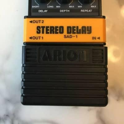 Arion SAD-1 Stereo Analog Delay Rare Vintage Guitar Effect Pedal MIJ Japan for sale