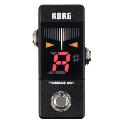 KORG Pitch Black Mini Tuner - Black for sale
