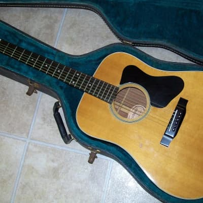 Madeira by Guild A-25  Natural with Case for sale