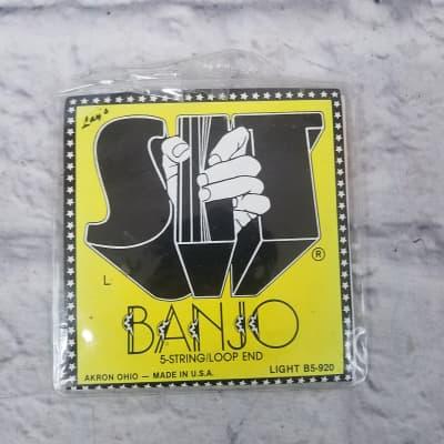 SIT Strings Light B5-920 5 String Loop End Banjo Strings
