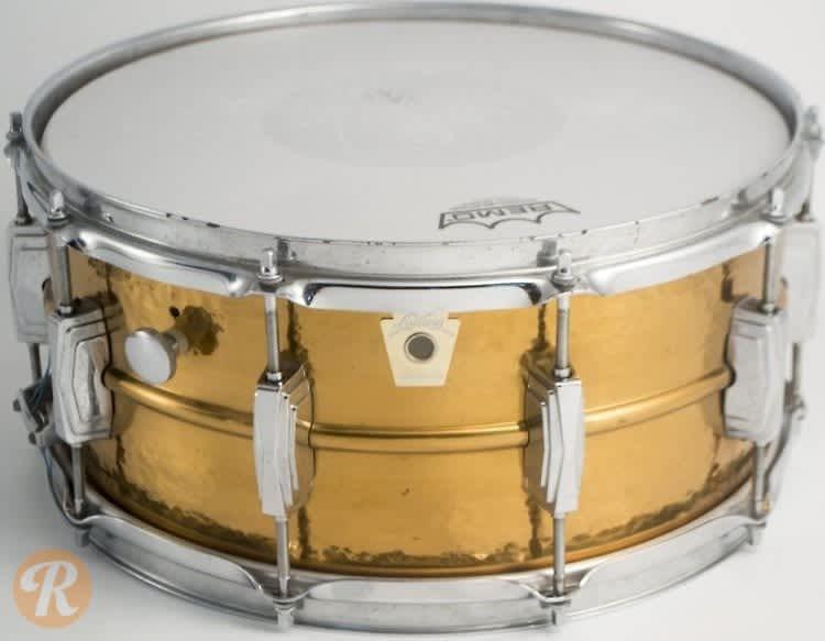 ludwig hammered bronze snare drum 1980s price reverb. Black Bedroom Furniture Sets. Home Design Ideas