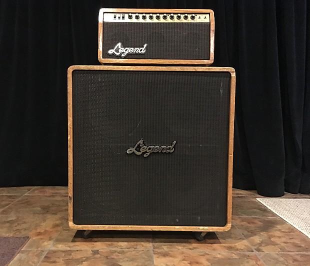 legend model a 60 electric guitar amplifier vintage 4x12 head reverb. Black Bedroom Furniture Sets. Home Design Ideas