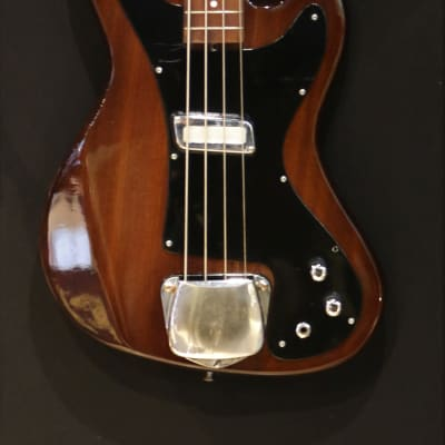 Meazzi Bass Guitar 1970's Natural for sale