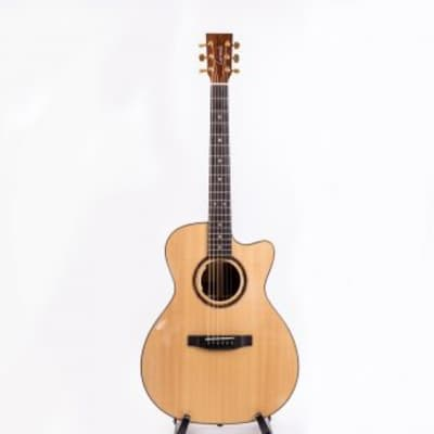 Harley  Benton CLD-30SCM-CE SolidWood 2019 Natural for sale