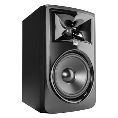 "JBL 308P MkII Powered 8"" 2-Way Bi-Amped Studio Reference Monitor Speaker Single"