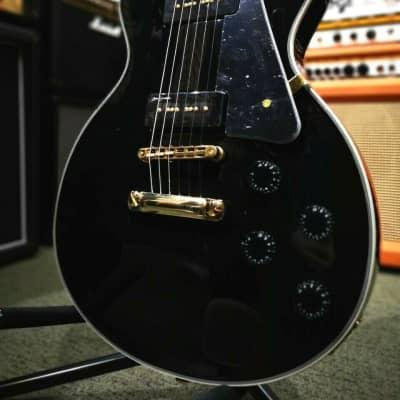 REVELATION RTL55 BLACK LP CUSTOM ELECTRIC GUITAR black for sale