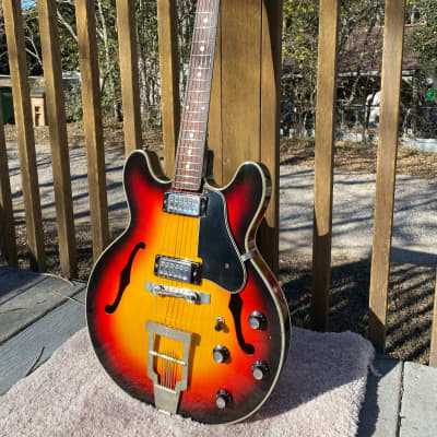Kapa Series 500 1960's Sunburst for sale