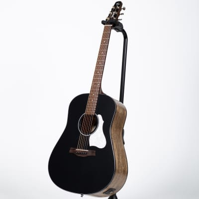 Seagull S6 Classic Acoustic-Electric Guitar - Black for sale