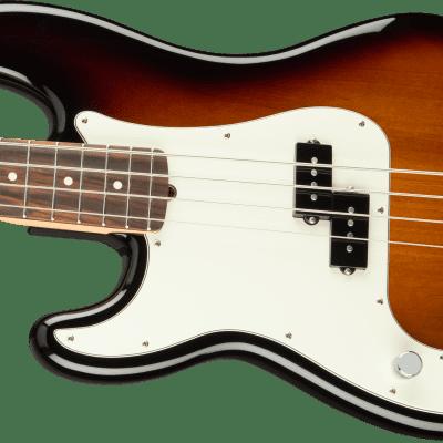 Fender American Professional Precision Bass. Left Handed 3 Tone Sunburst