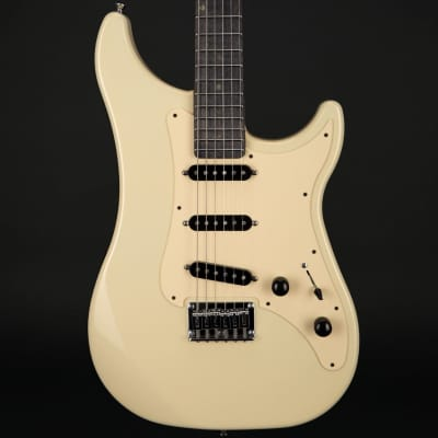 Vigier Expert Retro '54 in Retro White with Velour Noir Stained Maple Neck with Case #180321 for sale