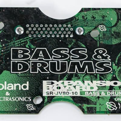 Roland & Spectrasonics Bass & Drums Expansion Board SR-JV80-10 for Roland JV80
