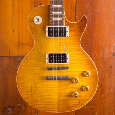 Gibson Gibson Custom Duane Allman 1959 Les Paul Aged Cherry Sunburst Aged for sale