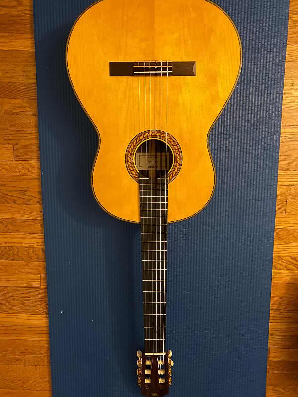 yamaha cg192s spruce top classical guitar natural reverb. Black Bedroom Furniture Sets. Home Design Ideas