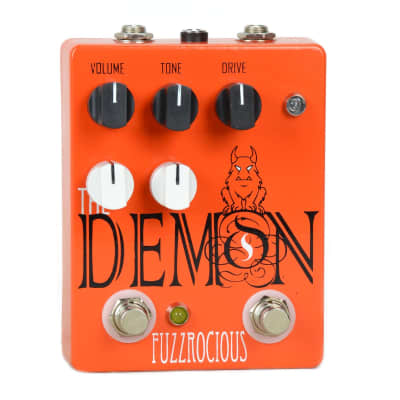 Fuzzrocious The Demon Overdrive - Distortion Pedal With Octave Jawn Mod