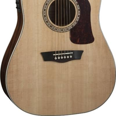 Washburn HD10SCE Heritage Series Dreadnought Cutaway Acoustic-Electric Guitar for sale