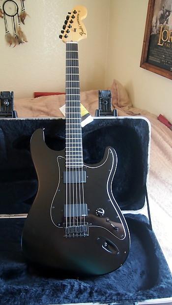 Fender Jim Root Stratocaster 2012 Flat Black EMGs Strat ...