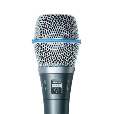 Shure BETA 87A Supercardioid Handheld Condenser Vocal Microphone
