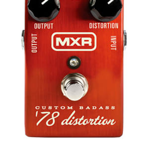 MXR Custom Badass '78 Distortion for sale