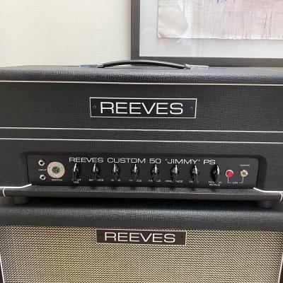 Reeves Custom Jimmy | 50 Watt | Power Scaling + FX Loop | Matching Cabinet for sale