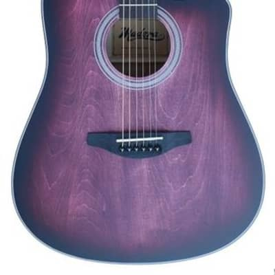 Madera OP411C - Cutaway Acoustic, Red for sale