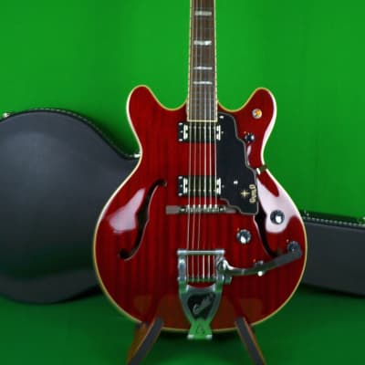 Guild Starfire V 6 String Electric with BIgsby, Hard Shell Case Included, Made in Korea