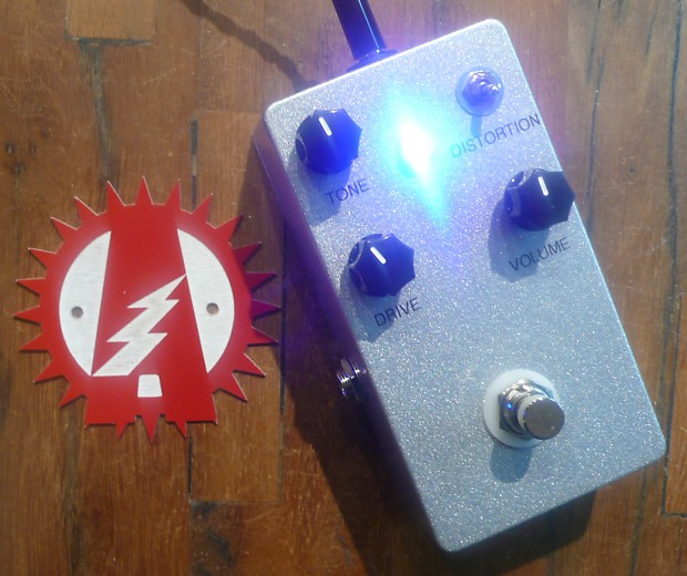 Mammoth Electronics Supercell Overdrive Alchemy Audio Assembled Guitar  Effects Pedal