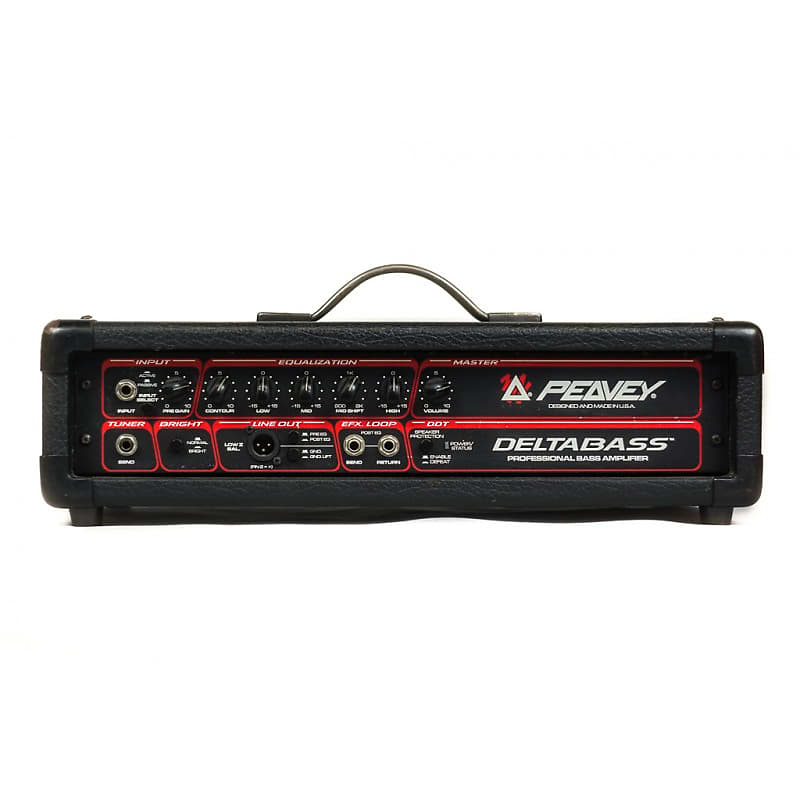 peavey deltabass bass head amplifier 1990s usa amp broker reverb. Black Bedroom Furniture Sets. Home Design Ideas