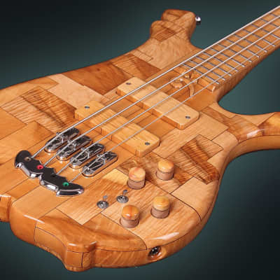 KD Earthquake 4-string Handmade Unique Rare Boutique SN#001