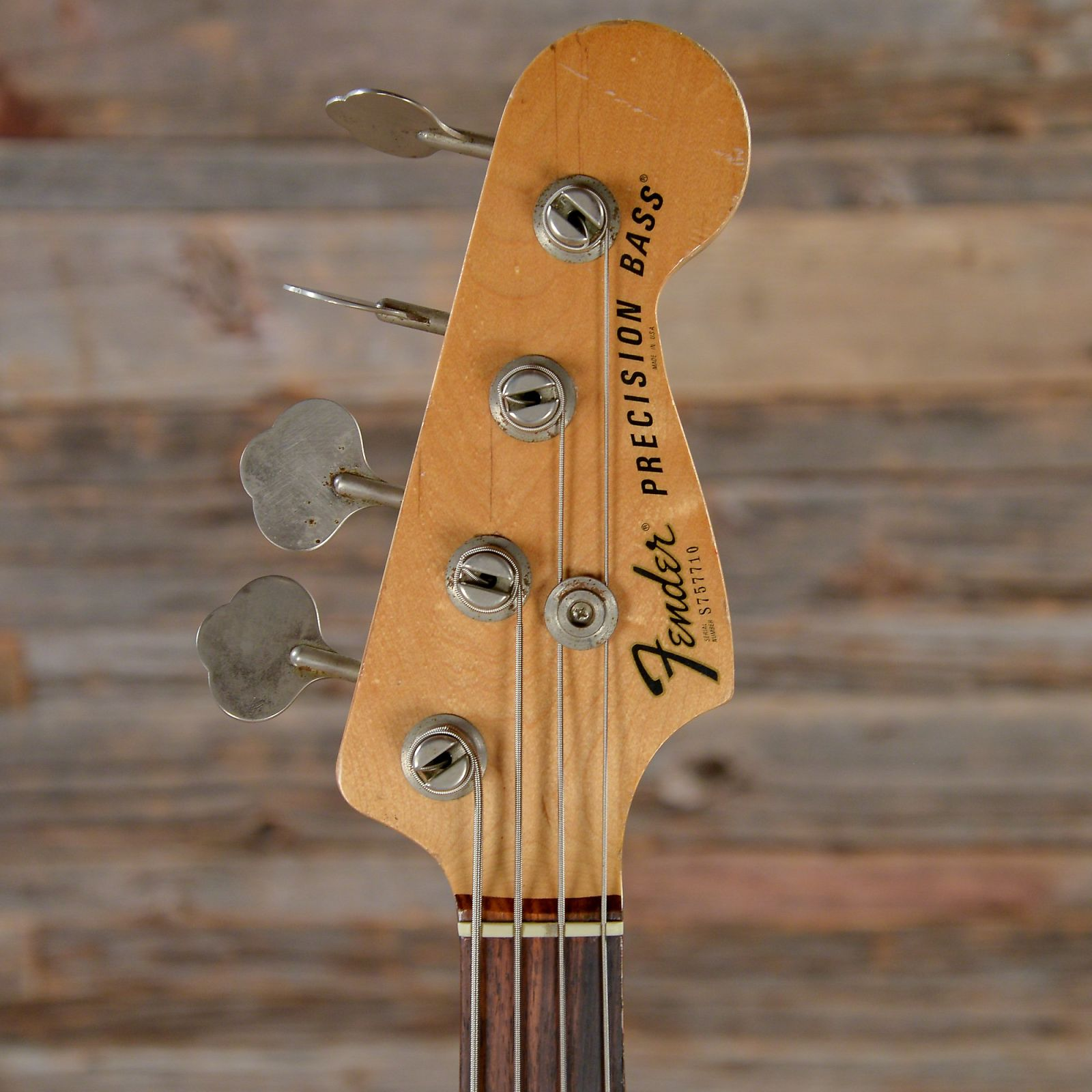 Fender Precision Bass Olympic White 1977 S710