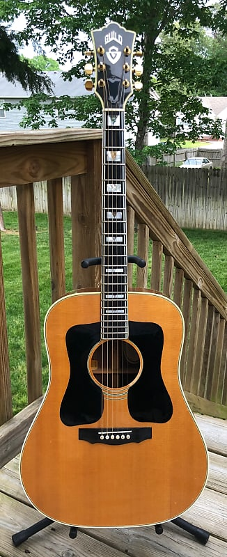 just bought a '77 Guild D55 - lefty converted to righty
