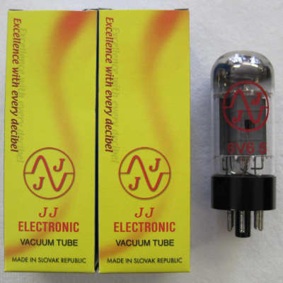 JJ Electronic 6V6S matched pair