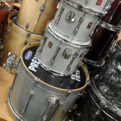 Premier Drum Shell Pack Silver Metallic