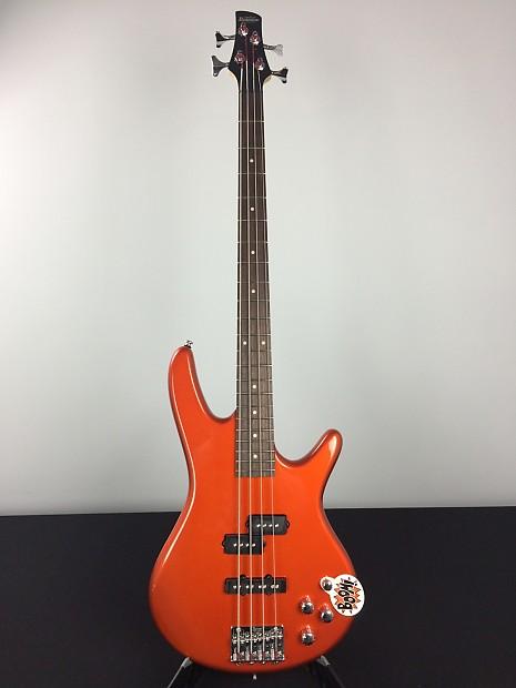 Ibanez GSR 200 Gio Soundgear Electric Bass Roadster Orange | Reverb