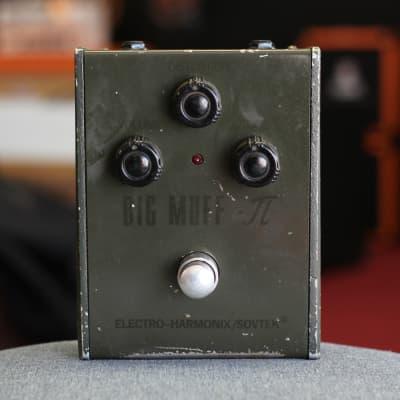 Electro-Harmonix / Sovtek Green Russian Big Muff Pi Tall Font