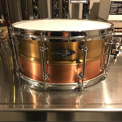 Craviotto  2012 Masters  Metal Brass/Copper 6.5x14 43/50-NEW