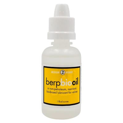 Berp BioOil for Pistons and Rotor Valves - 1 Oz. #2 (Medium)