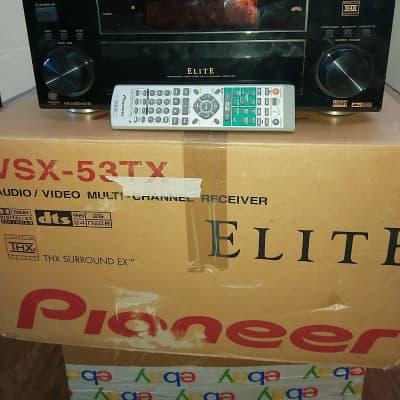 Pioneer  Vsx53tx  2003 Blk