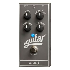 Aguilar AGRO Overdrive Bass Guitar Effects Pedal for sale