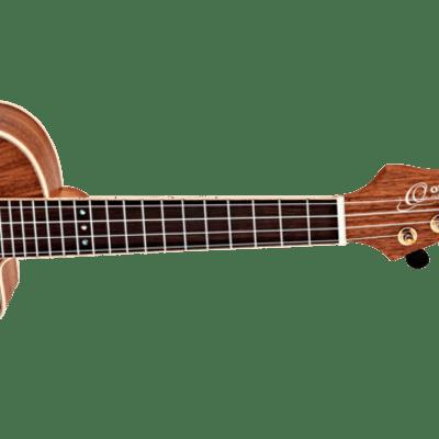 Ortega Horizon Series Acoustic Electric Ukulele Walnut