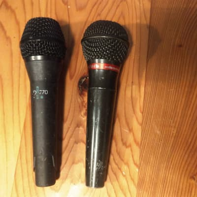 ATM41a  and AKG D770 Microphones