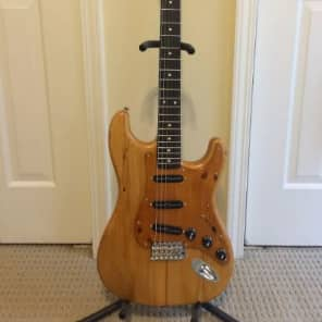 "Carmine Street Guitars / Rick Kelly Masterbuilt Custom Stratocaster-style ""Bowery Pine"" for sale"