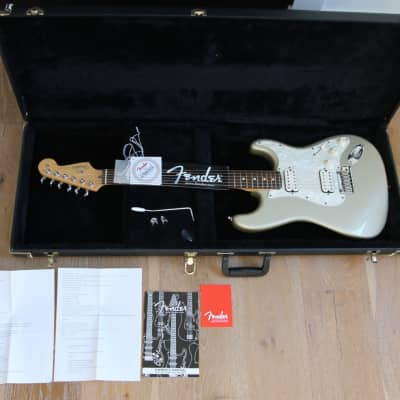 Fender 2001 American Standard Series Fat Double Stratocaster HH Rosewood Fretboard Shoreline Gold