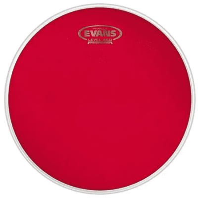 Evans BD22HR Hydraulic Red Bass Drum Head - 22""