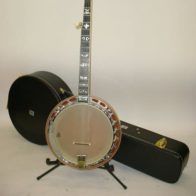 Gold Star by Saga GF-100FE 5-String Banjo INCLUDES CASE for sale