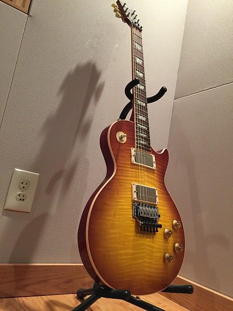 Gibson Les Paul Axcess Floyd Rose 2010 Iced Tea Burst with custom pickup  mods