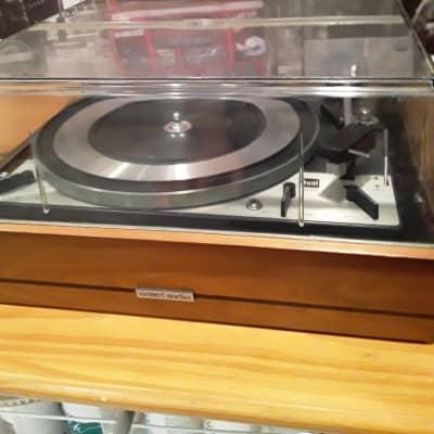 Dual 1218 turntable 1974? Walnut  base